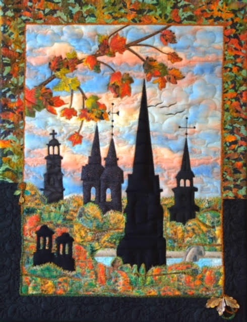 The Spires of Frederick; designed and created by Olga Schrichte, Frederick, MD, August 2015